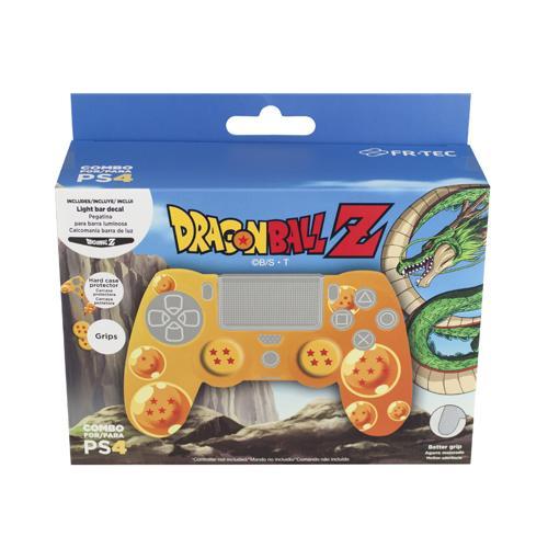 DUALSHOCK®4専用カバー & グリップ & LEDライトステッカー 3種類セット