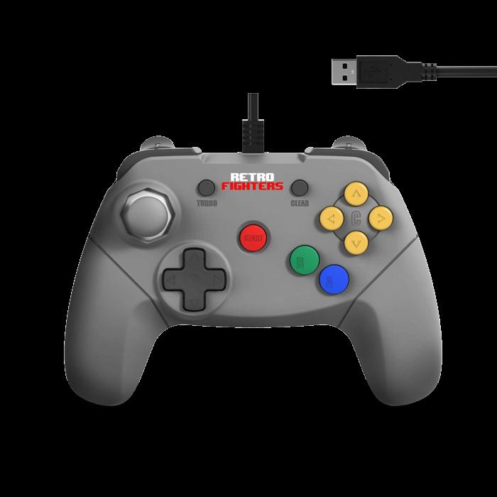 【2021年6月再販】RETRO FIGHTERS / Brawler64 USB Edition ゲームコントローラ